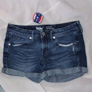 Mossimo size 2 / 26 distressed jean shorts womens